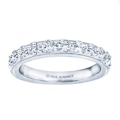 Diamond Wedding Band by True Romance