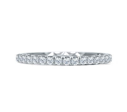 Diamond Wedding Band by A. Jaffe