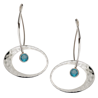 Silver Earrings by Ed Levin