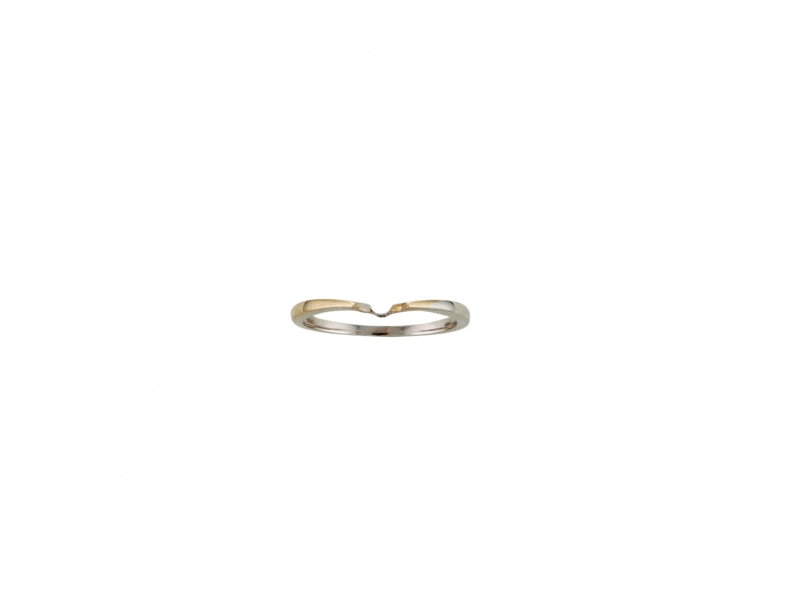 Gold Wedding Band by Naledi Collection