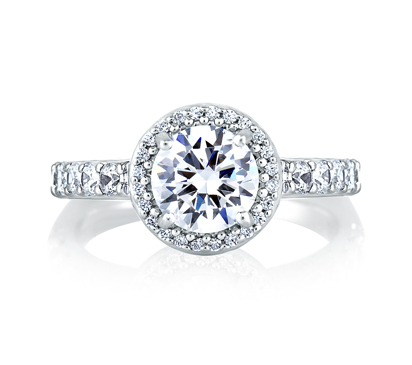 Semi-Mount Engagement Rings by A. Jaffe